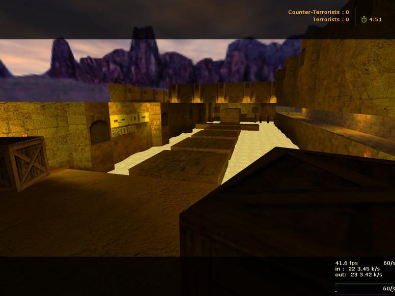 «deathrun_dusty» для CS 1.6