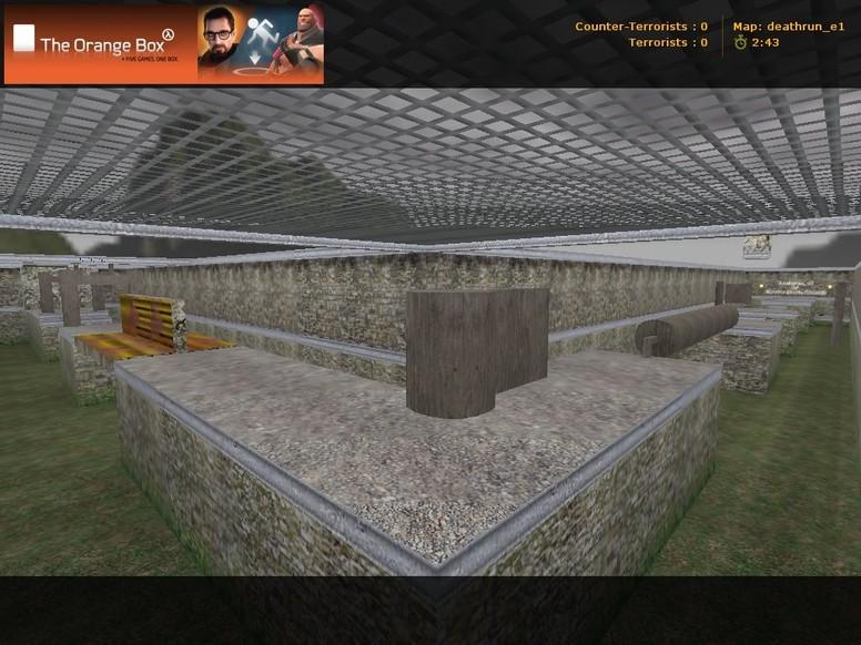 «deathrun_e1» для CS 1.6