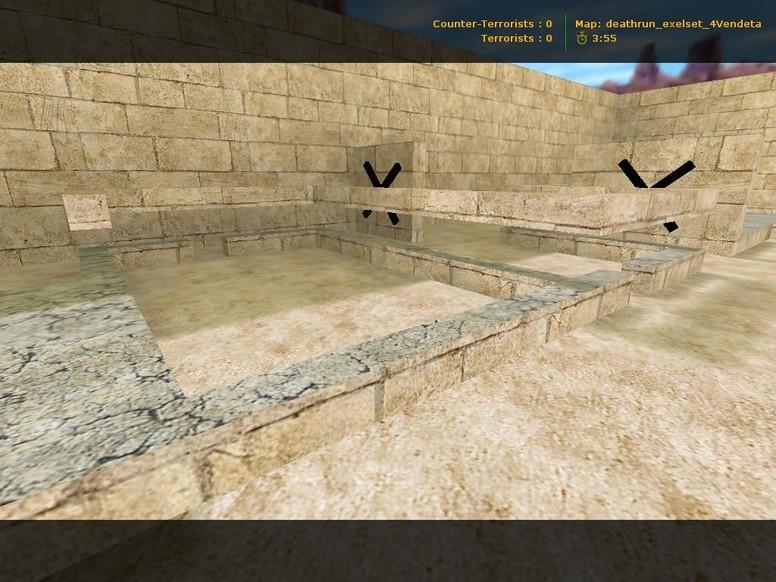 «deathrun_exelset_4vendeta» для CS 1.6