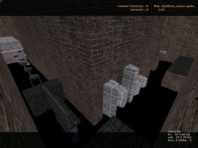 «deathrun_expres-game» для CS 1.6