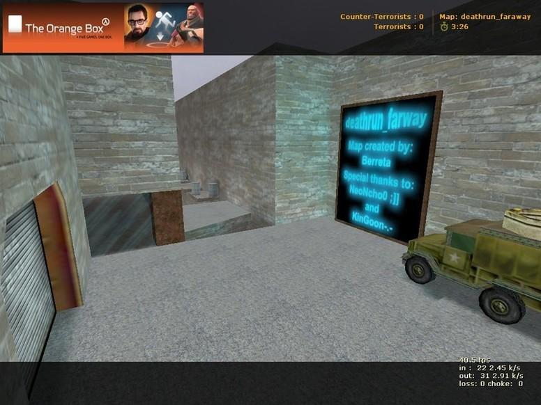 «deathrun_faraway» для CS 1.6