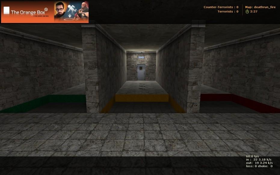 «deathrun_fire» для CS 1.6