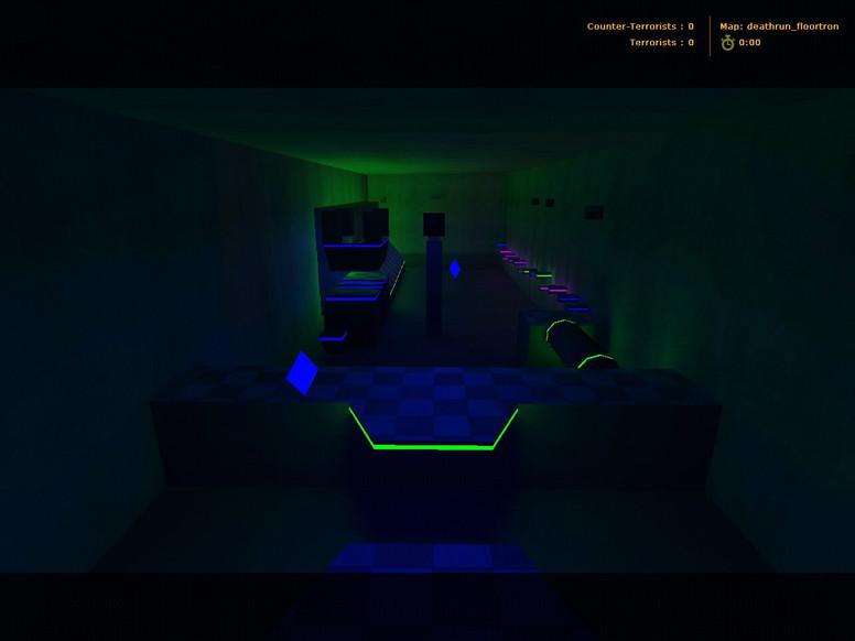 «deathrun_floortron» для CS 1.6