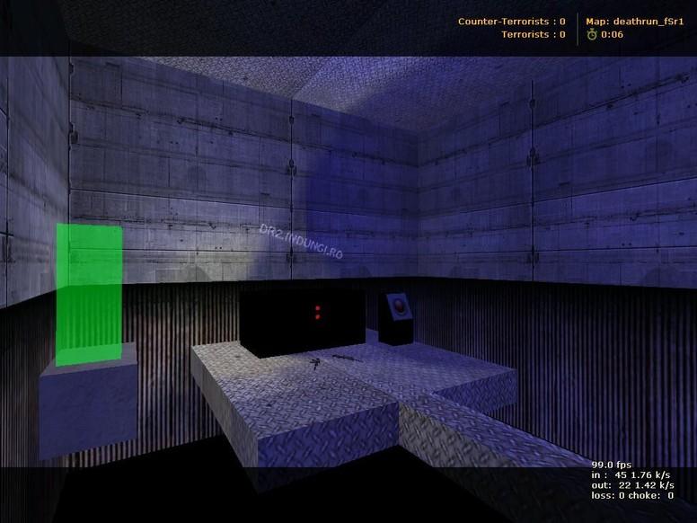 «deathrun_fsr» для CS 1.6