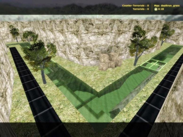 «deathrun_grass» для CS 1.6