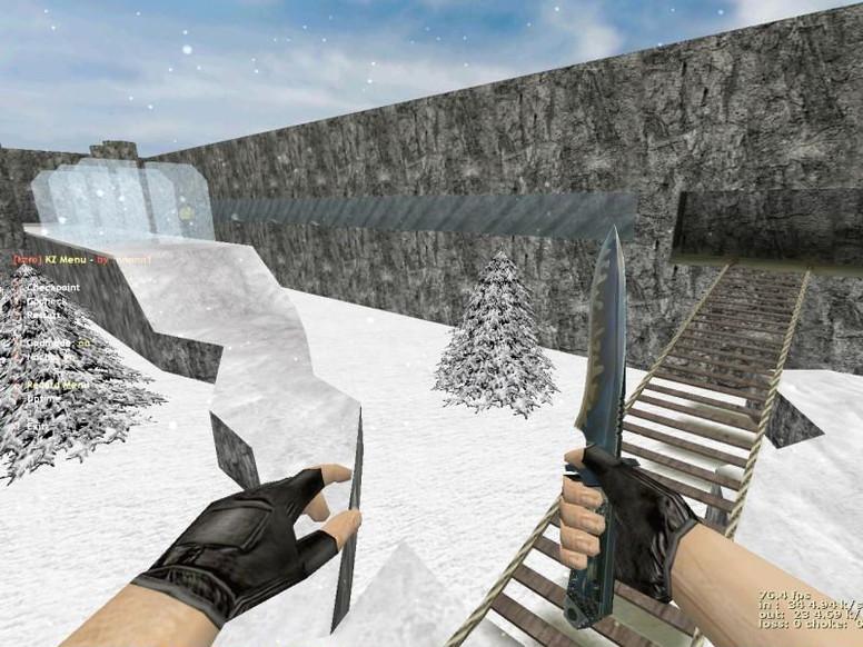 «deathrun_grass_winter» для CS 1.6