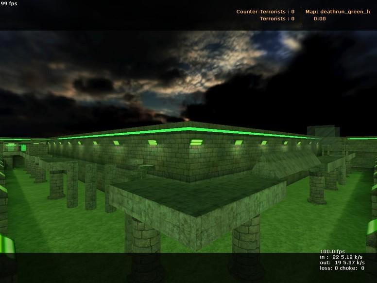 «deathrun_green_h» для CS 1.6