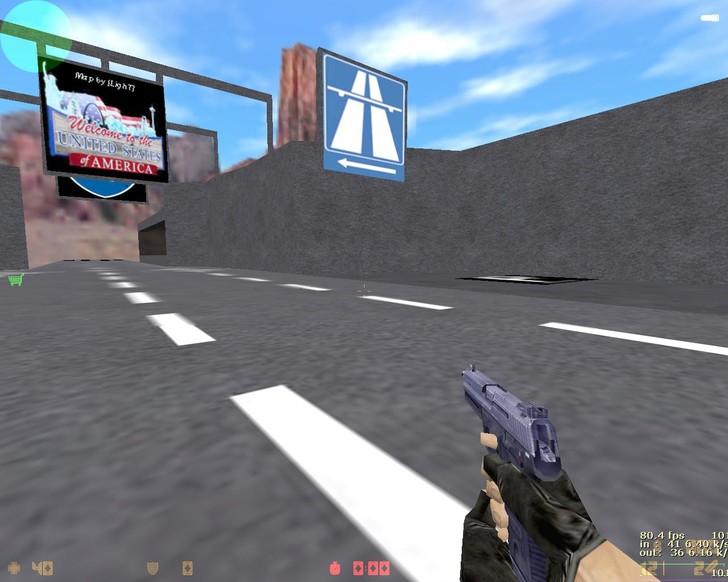 «deathrun_highroad» для CS 1.6