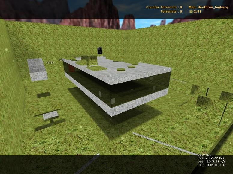 «deathrun_highway» для CS 1.6