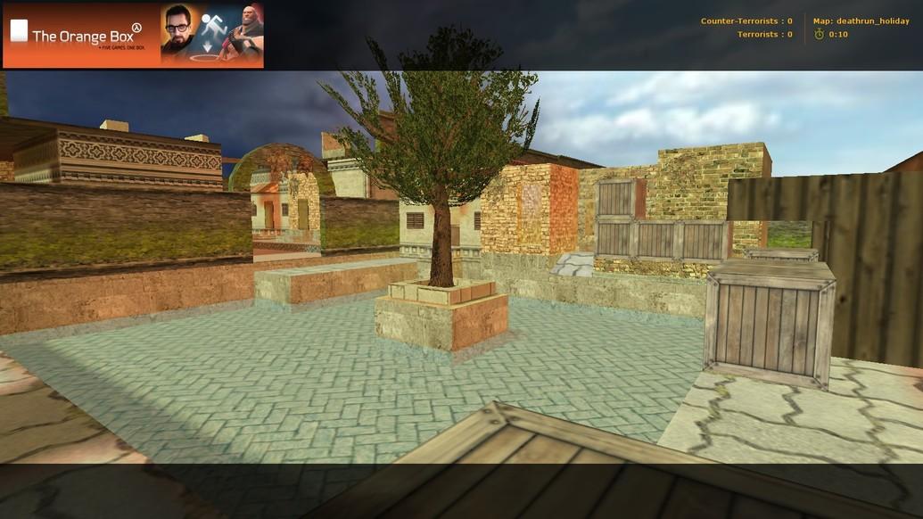 «deathrun_holiday» для CS 1.6