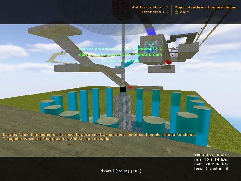 «deathrun_hombrealagua» для CS 1.6
