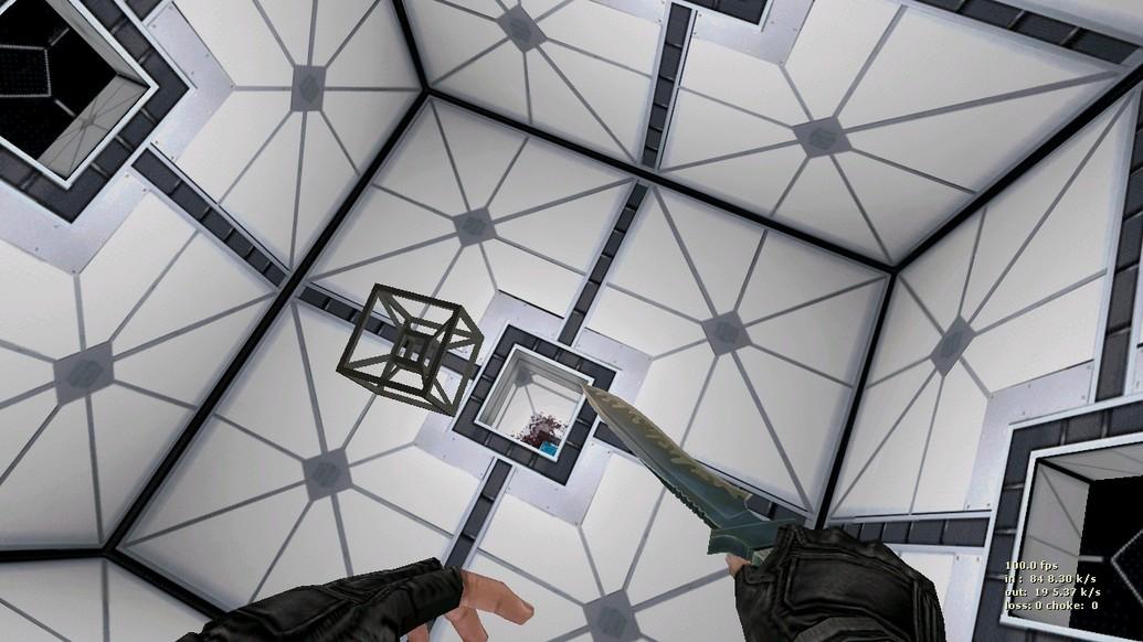 «deathrun_hypercube» для CS 1.6