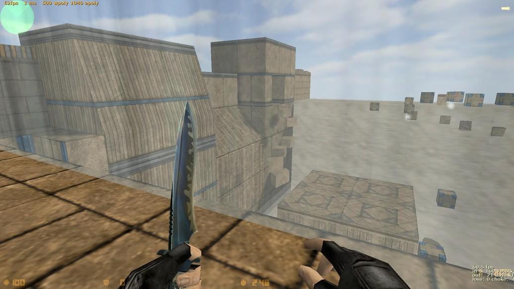 «deathrun_icarus» для CS 1.6