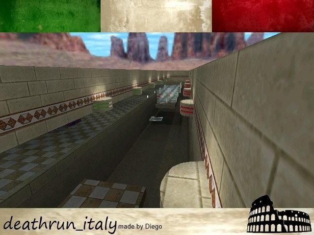 «deathrun_italy» для CS 1.6
