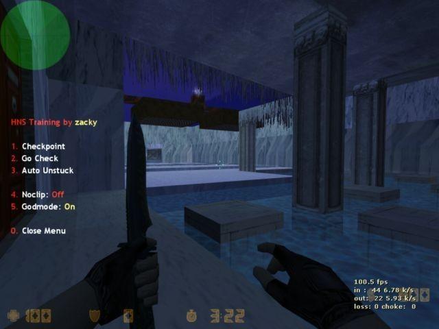 «deathrun_jinglebells» для CS 1.6