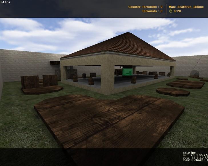 «deathrun_laikiux» для CS 1.6