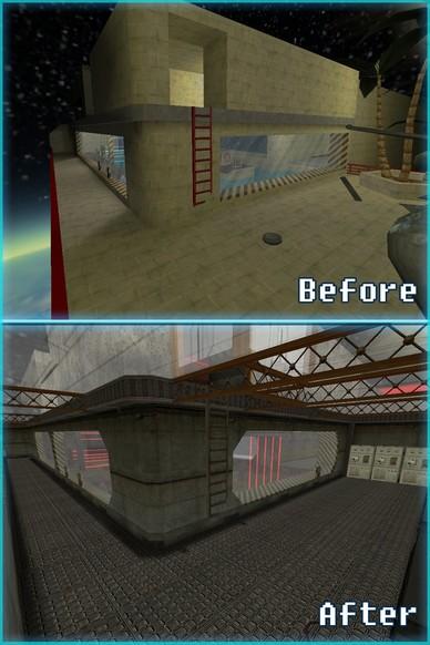 «deathrun_laserspace» для CS 1.6