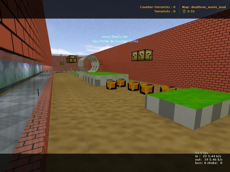 «deathrun_mario_mad» для CS 1.6