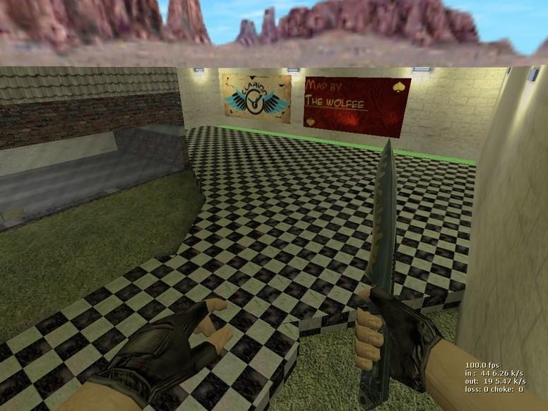 «deathrun_newlife» для CS 1.6