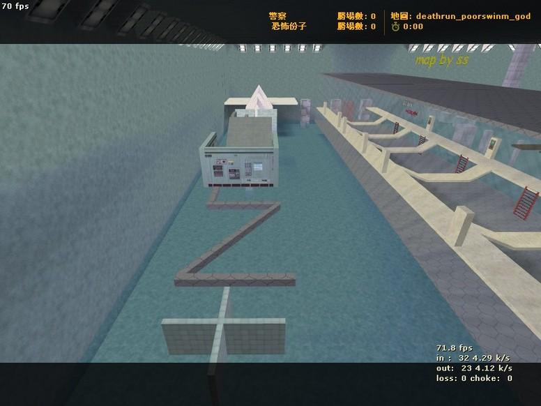 «deathrun_poorswinm_god» для CS 1.6