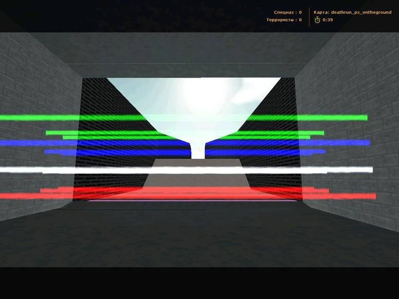 «deathrun_px_ontheground» для CS 1.6