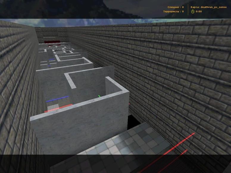 «deathrun_px_sense» для CS 1.6