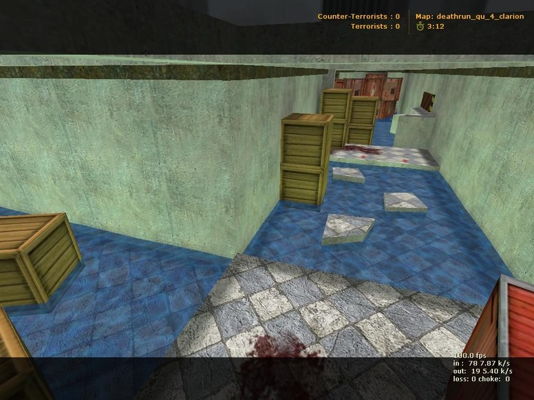 «deathrun_qu_4_clarion» для CS 1.6