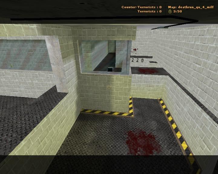 «deathrun_qu_4_milf» для CS 1.6