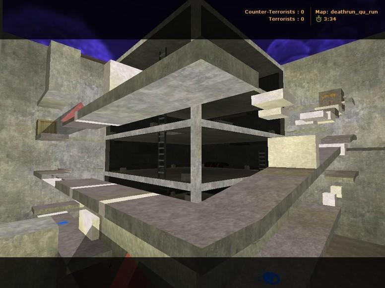 «deathrun_qu_run» для CS 1.6