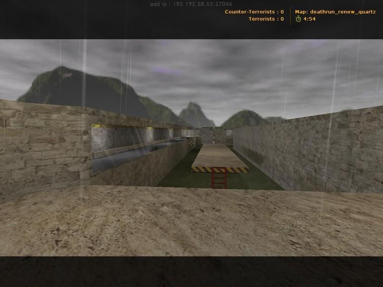«deathrun_renew_quartz» для CS 1.6