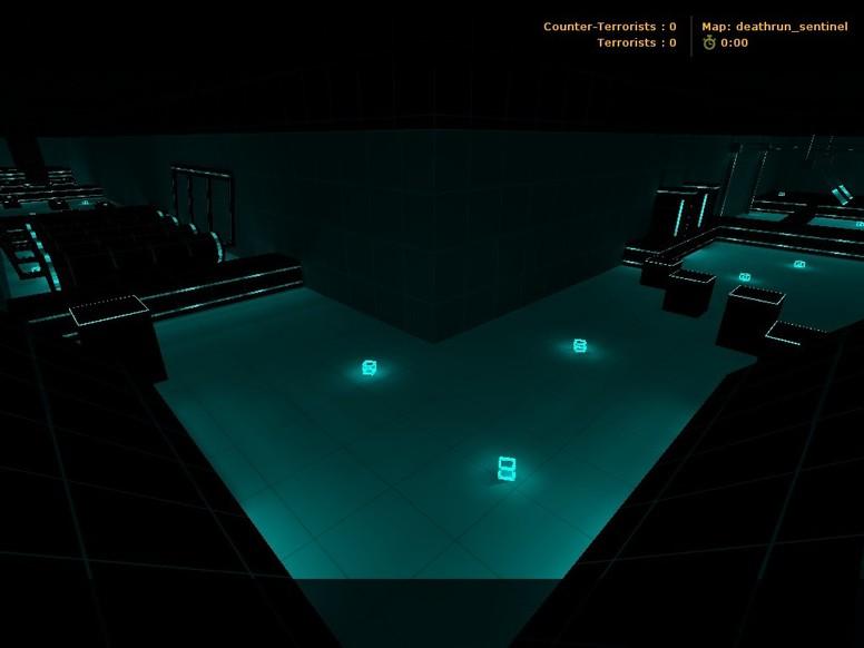 «deathrun_sentinel» для CS 1.6