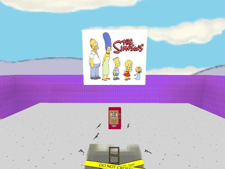 «deathrun_simpsons_world» для CS 1.6