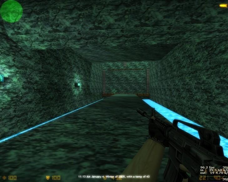 «deathrun_sininelaguun» для CS 1.6