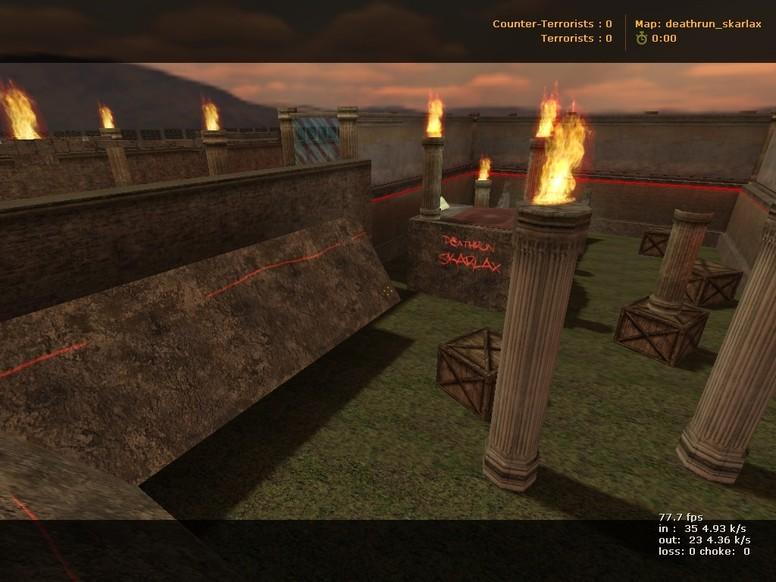«deathrun_skarlax» для CS 1.6