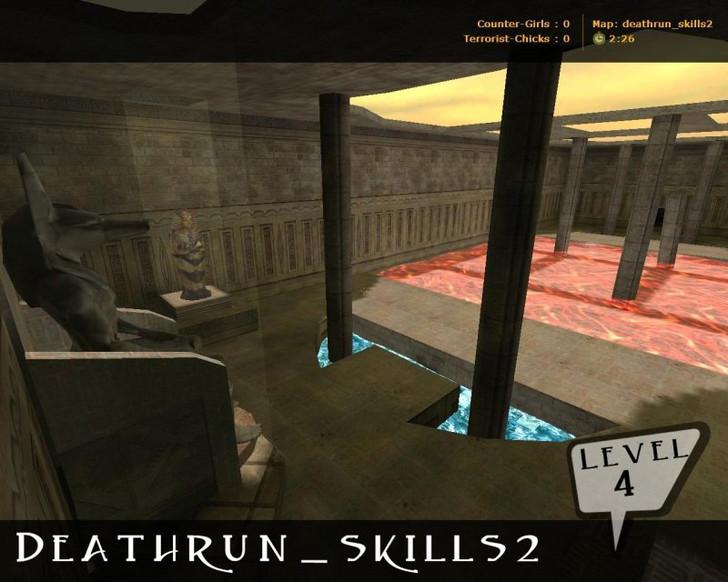 «deathrun_skills2» для CS 1.6
