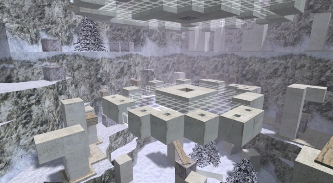 «deathrun_snow» для CS 1.6