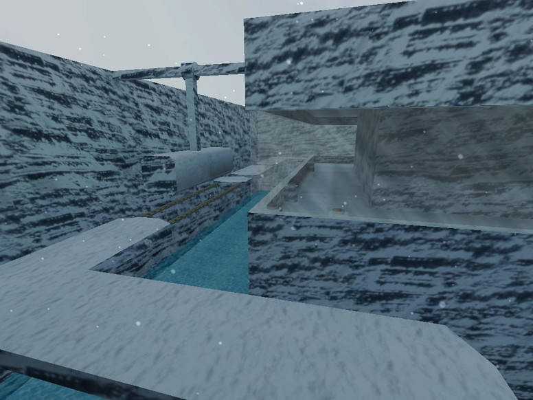 «deathrun_snow_run» для CS 1.6