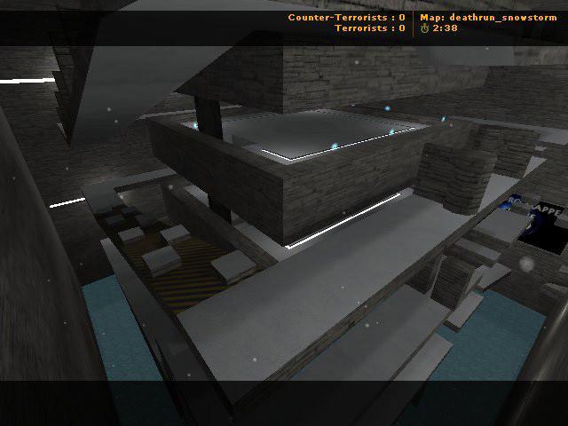 «deathrun_snowstorm» для CS 1.6