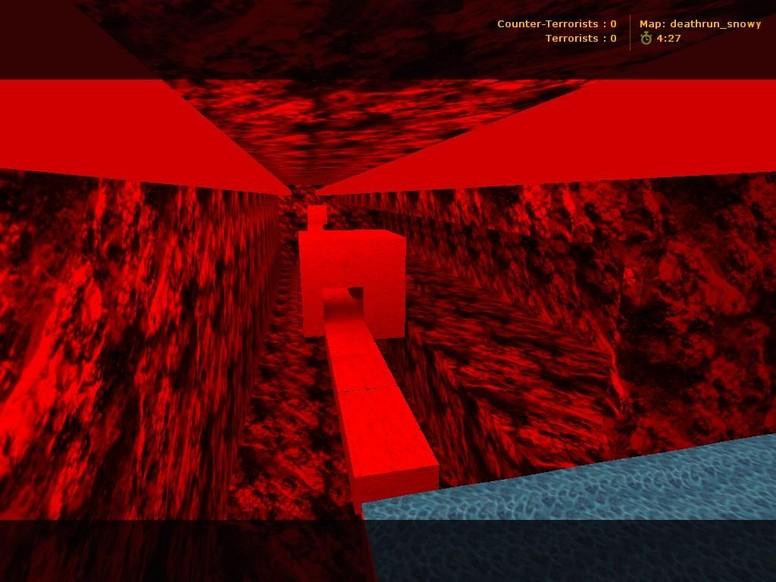 «deathrun_snowy» для CS 1.6