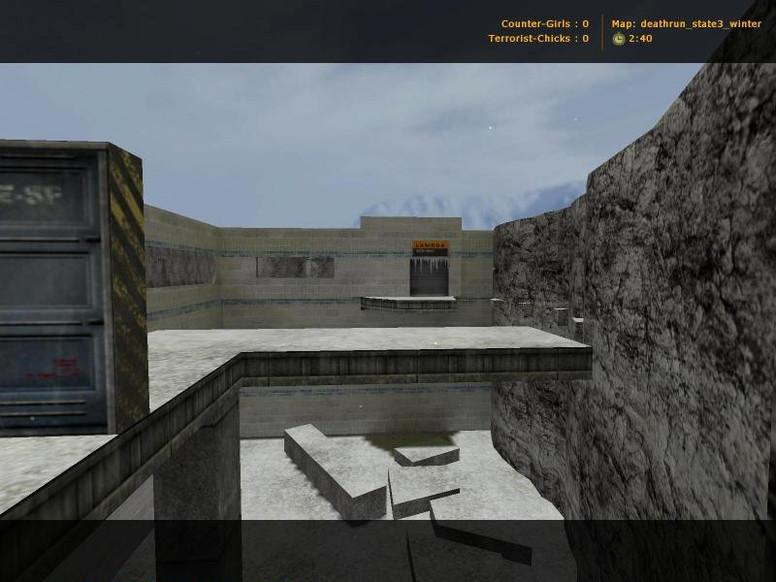 «deathrun_state3_winter» для CS 1.6