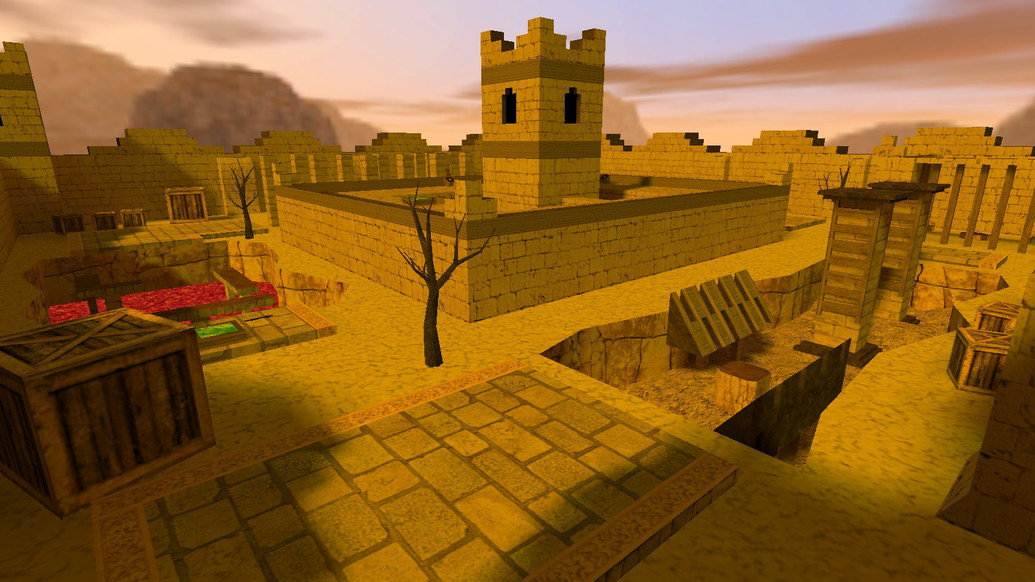 «deathrun_stronghold_beta1» для CS 1.6