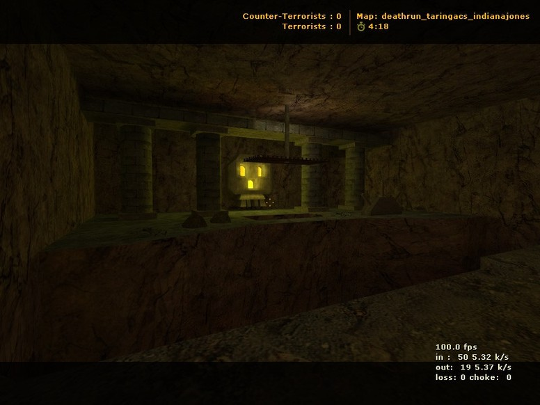 «deathrun_taringacs_indianajones» для CS 1.6