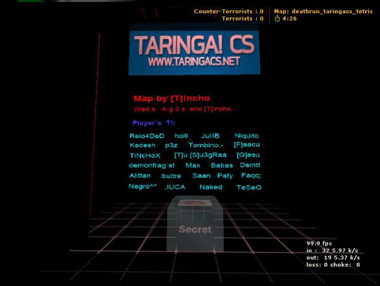 «deathrun_taringacs_inthetetris» для CS 1.6