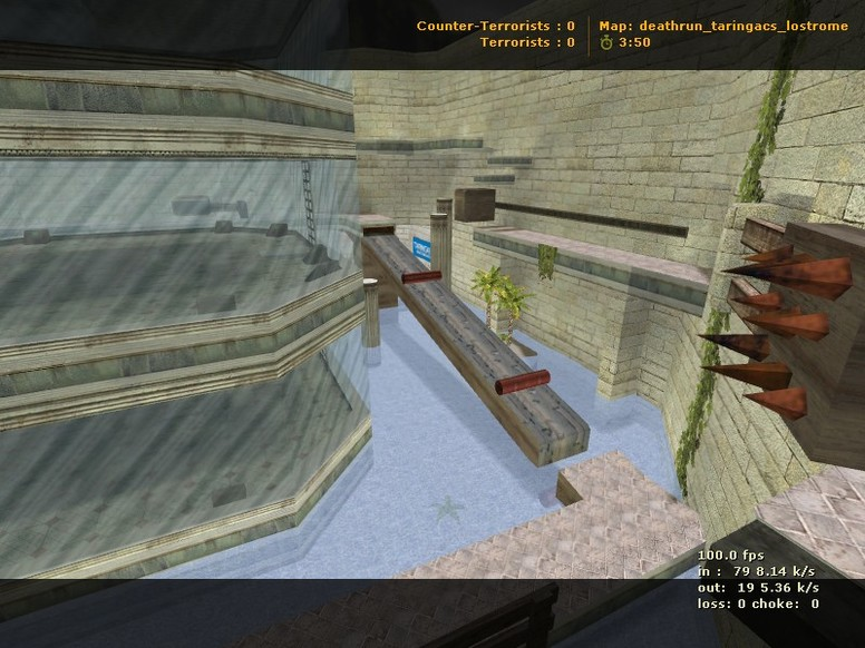 «deathrun_taringacs_lostrome» для CS 1.6