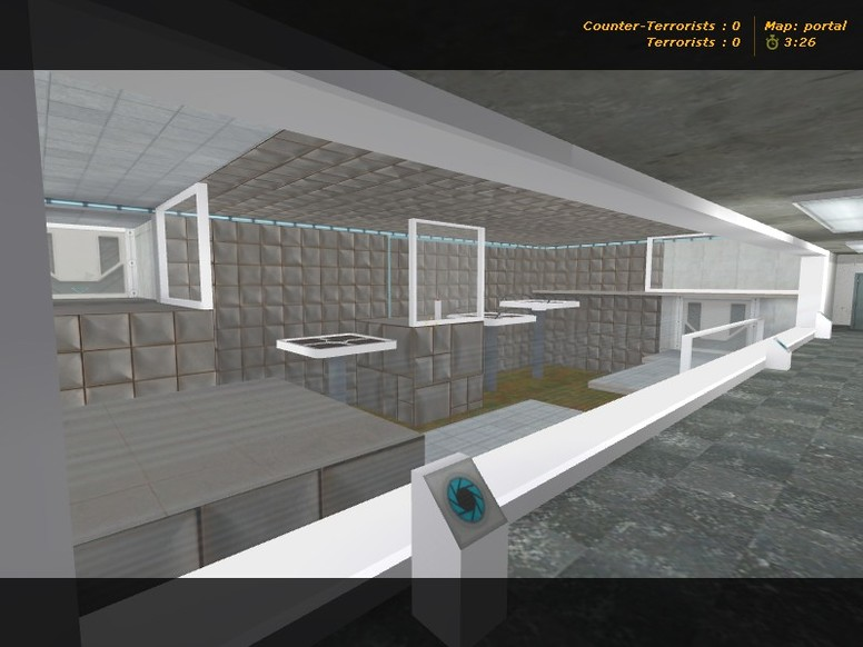 «deathrun_taringacs_portal» для CS 1.6