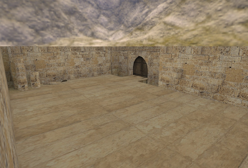 «deathrun_temple-dust» для CS 1.6