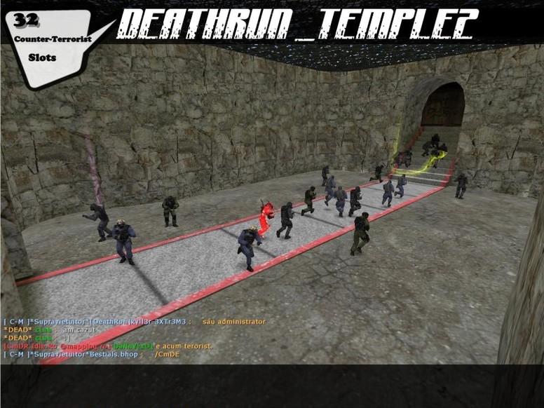 «deathrun_temple2» для CS 1.6