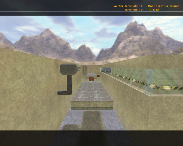 «deathrun_temple» для CS 1.6