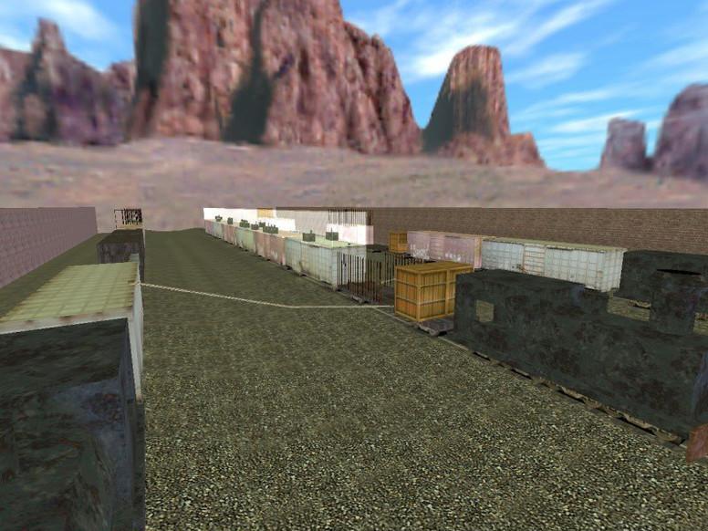 «deathrun_terrortrain» для CS 1.6