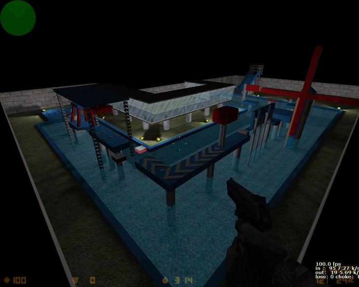 «deathrun_total_wipeout» для CS 1.6
